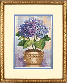 Hydrangea in Bloom Гортензия