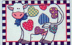 Patchwork cow