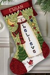 Believe Snowman Stocking  Сапожок Снеговик-Поверь!